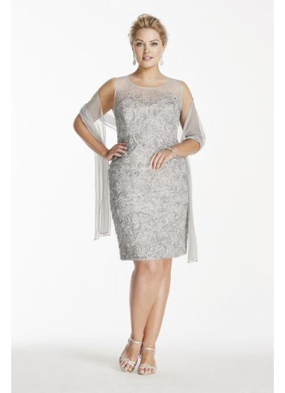 Short Sheath Tank Cocktail and Party Dress - Ignite