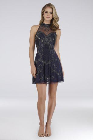 Short Halter Dress - Lara