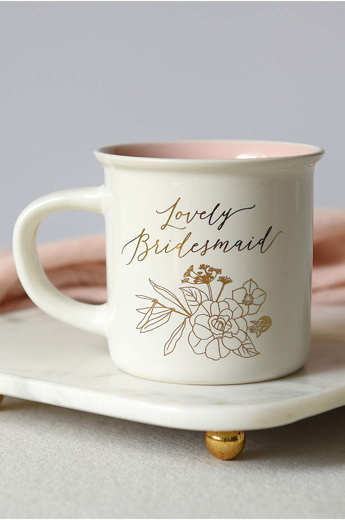 Lovely Bridesmaid Coffee Mug