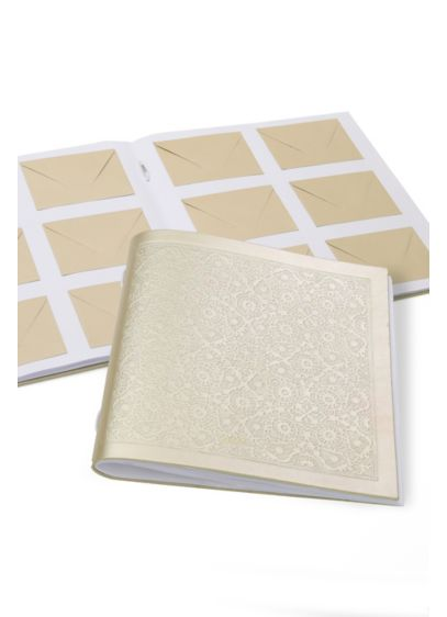Etched Guest Book with Cards and Envelopes - Wedding Gifts & Decorations