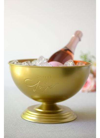 Cheers to Love Champagne Ice Bucket - Wedding Gifts & Decorations