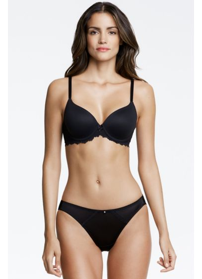 Dominique Black (Dominique Lacee Everyday Contour T-Shirt Bra)