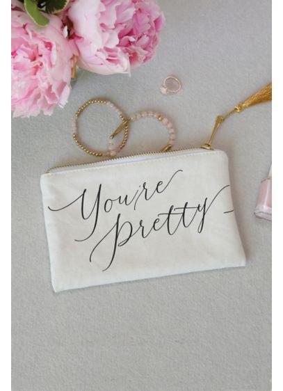 (You Are Pretty Makeup Bag)