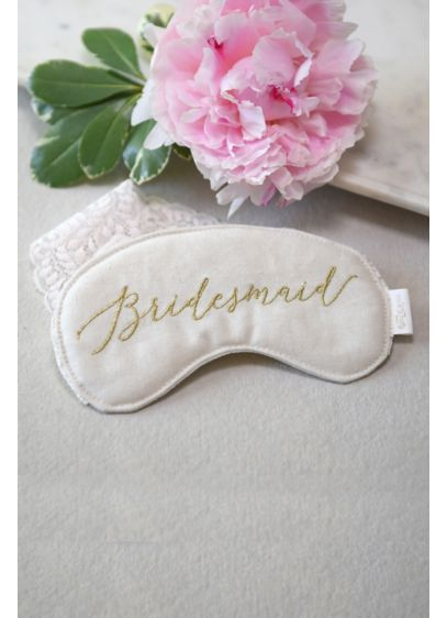 (Style Me Pretty Bridesmaid Sleep Mask)
