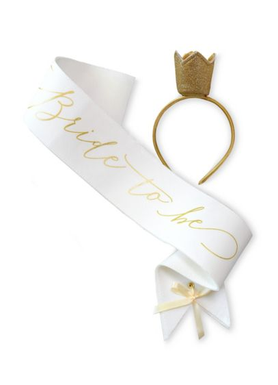 (Bride To Be Sash)