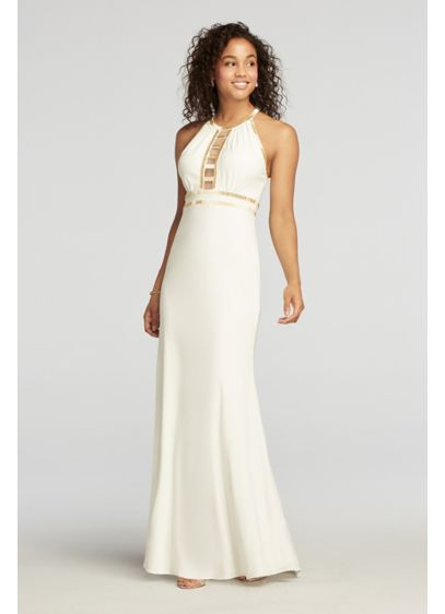 Long Sheath Halter Formal Dresses Dress - Ignite