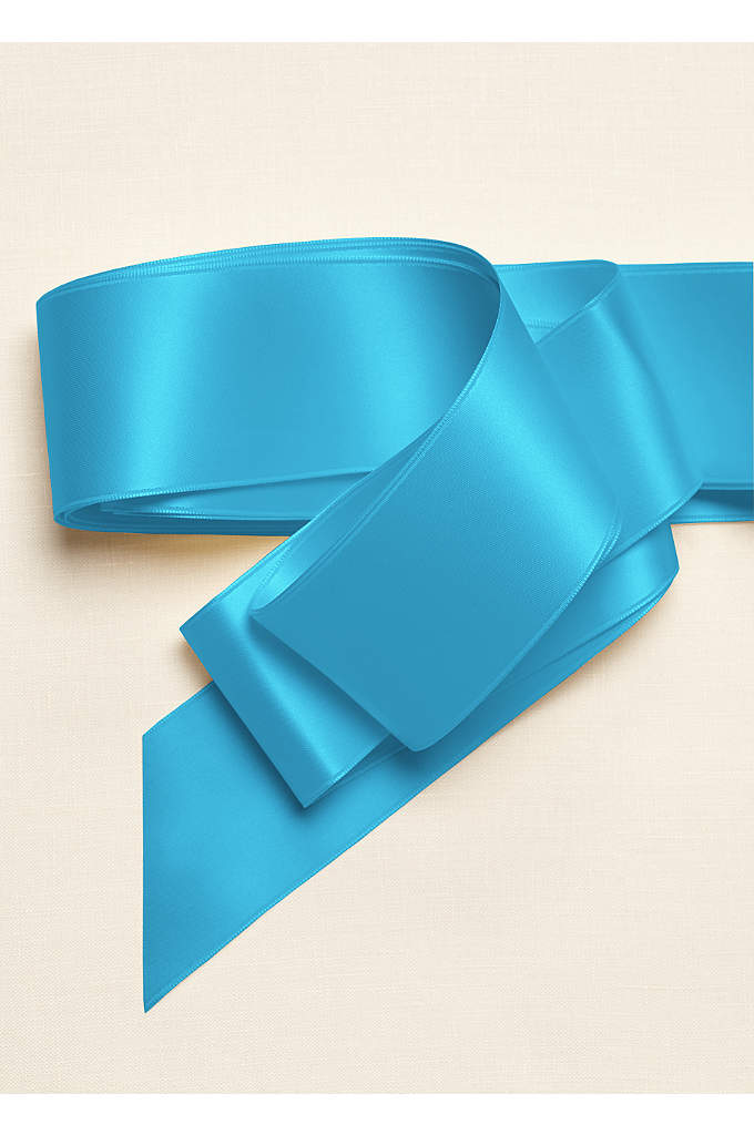 2 Inch Satin Ribbon - This classic 2-inch satin ribbon adds color to