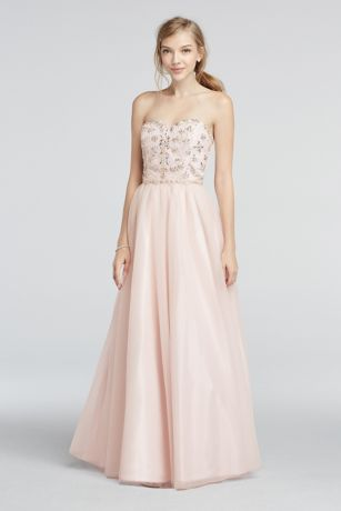 Prom Dresses Strapless
