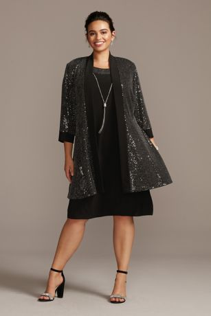 Short A-Line Jacket Dress - RM Richards