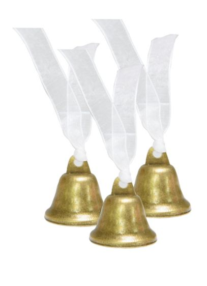 Golden Bells Wedding Favor Set - Celebrate the unification of two hearts with this