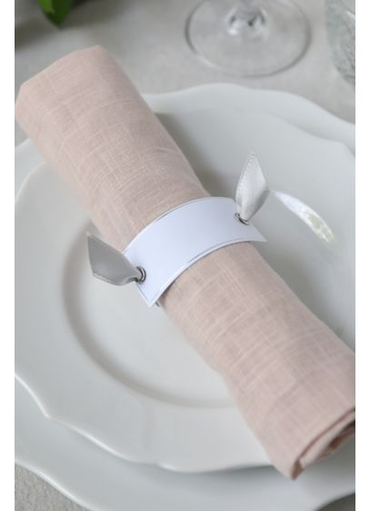 Napkin Ring Place Card Set - Add a stylish touch to your wedding tables