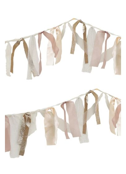 (Romantic Ribbon Garland)