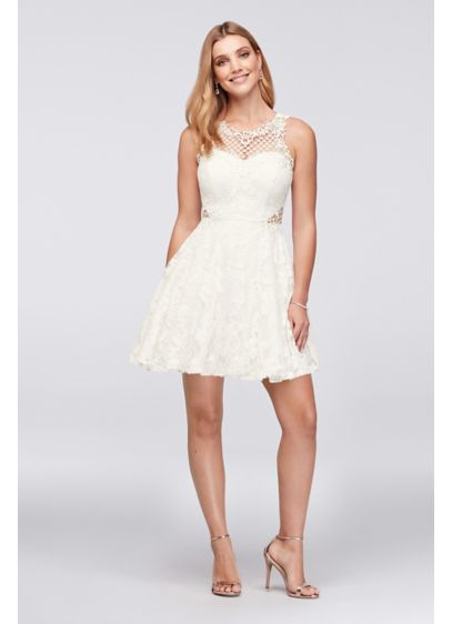Short A-Line Tank Bridal Shower Dress - City Triangles