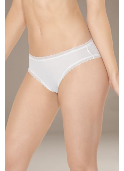 Coquette Crotchless Thong with Veil - Wedding Accessories
