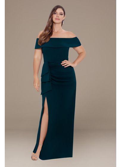 Long Sheath Off the Shoulder Formal Dresses Dress - Xscape