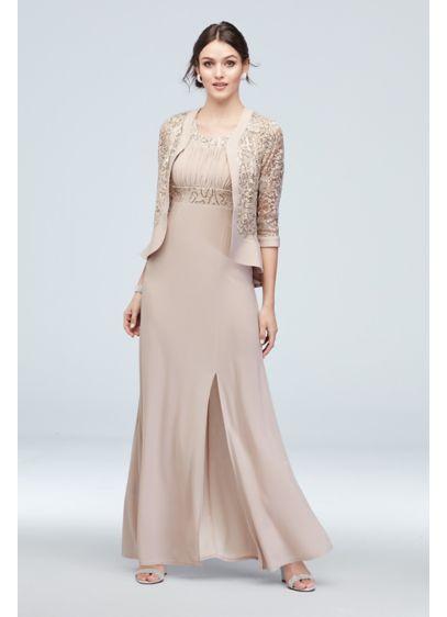 Long A-Line Jacket Formal Dresses Dress - RM Richards