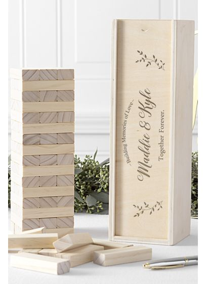 Personalized Building Block Wedding Guestbook - Wedding Gifts & Decorations
