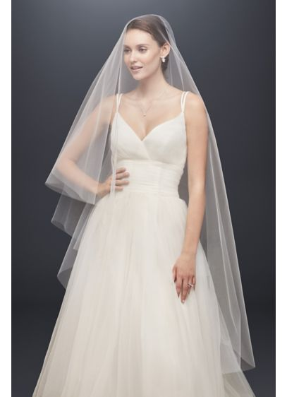 Two-Tier Circle-Cut Walking Veil - Wedding Accessories