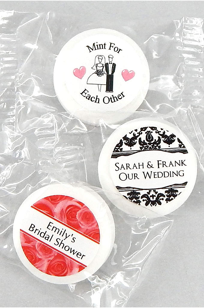 Personalized Classic Wedding Life Savers Mints - Thank your guests for sharing in your joyous