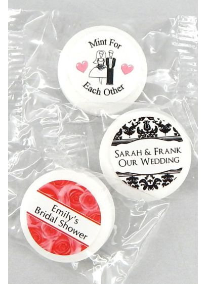 Personalized Classic Wedding Life Savers Mints David S Bridal