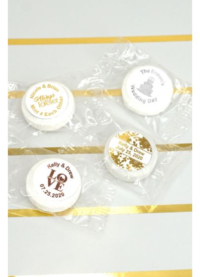 (Metallic Foil Life Savers Mint Favors)