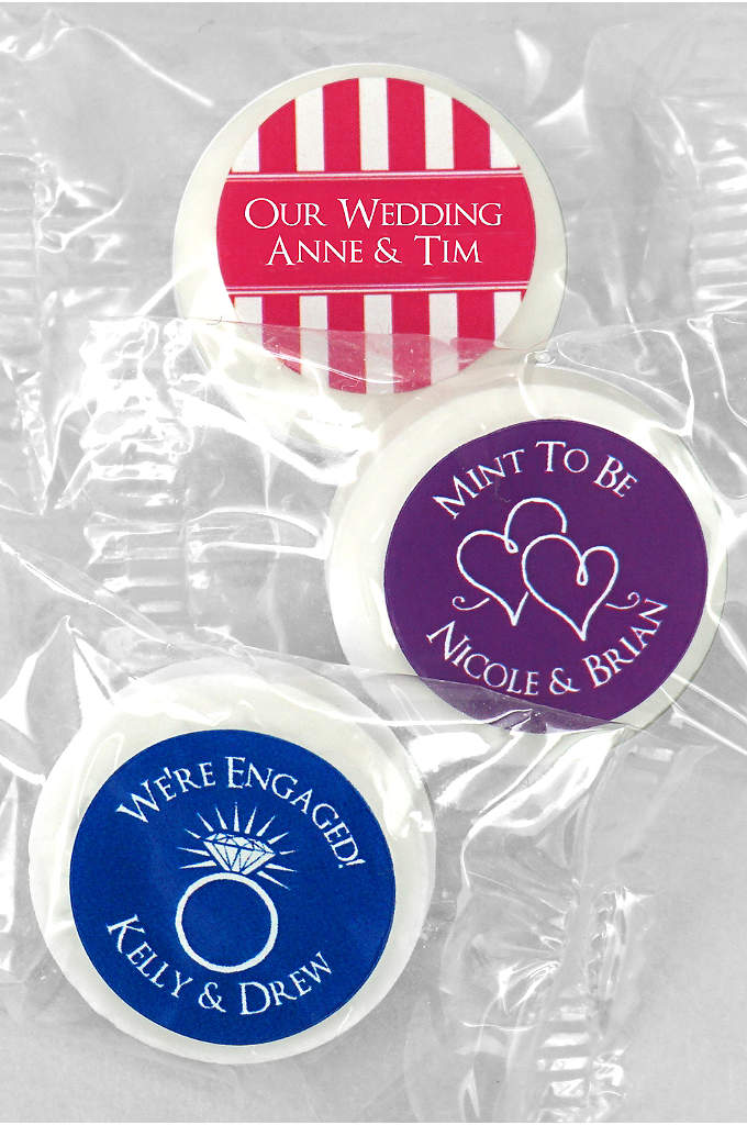 DB Exclusive Personalized Life Savers Mint Favors - With these personalized candies, you can show your