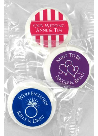 DB Exclusive Personalized Life Savers Mint Favors - Wedding Gifts & Decorations