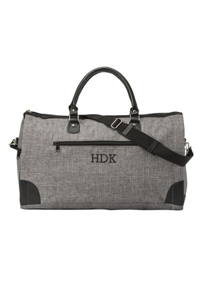 Personalized Convertible Garment Bag - The unique Grey Convertible Garment Bag is perfect