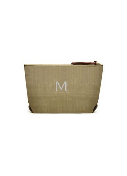 Personalized Napa Linen Cosmetic Bag - Wedding Gifts & Decorations