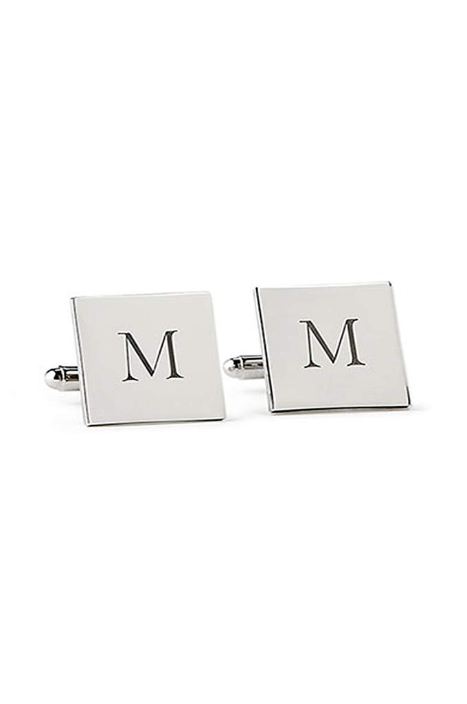 Personalized Square Cufflinks - These Personalized Square Cuff Links will elevate your