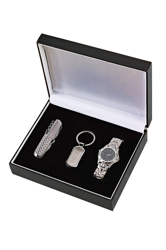 Personalized Three Piece Gift Set - Give your groomsmen a valuable gift they'll not