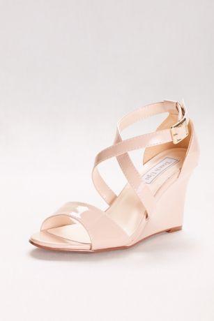 Touch Ups Beige Heeled Sandals (Jenna Wedge Sandals)