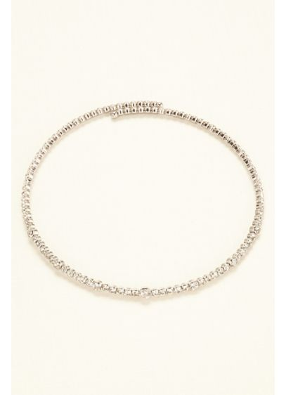 Flexible Crystal Choker - Wedding Accessories