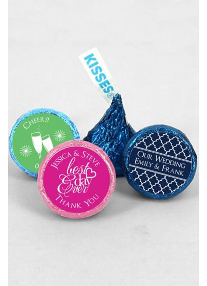 DB Exclusive Pers Colored Foil Hershey Kisses - Hard to resist, Hershey's Kisses are the quintessential