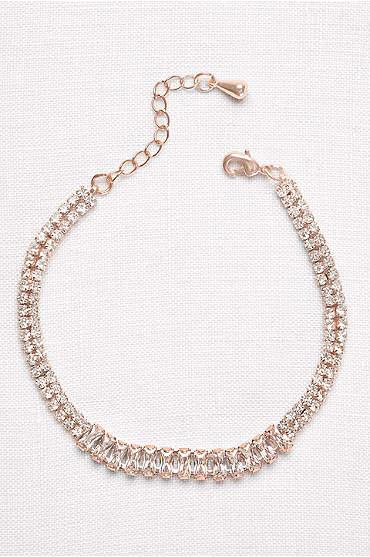 Baguette Row Tennis Bracelet