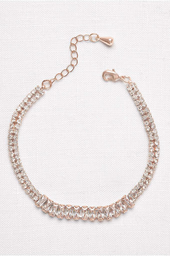 Baguette Row Tennis Bracelet - A tennis bracelet with a little something extra,
