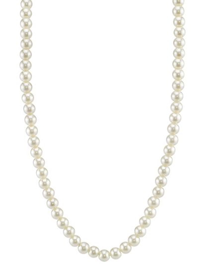 Timeless Pearl Strand Necklace - Wedding Accessories