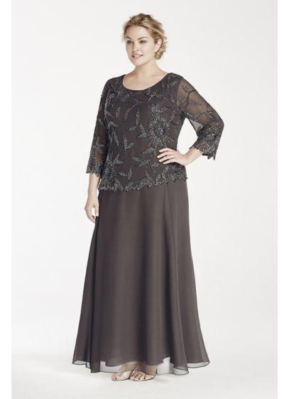 Long A-Line Long Sleeves Formal Dresses Dress - Jkara