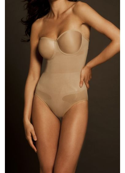 Body Wrap Seamless Body Suit with Molded Cups - Wedding Accessories