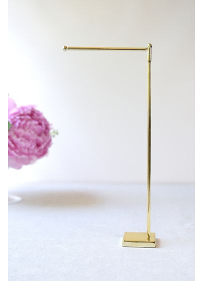 Gold-Tone Table Number Stand - This gold-tone stand is a simply chic way