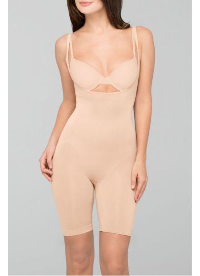 Body Wrap Beige (Body Wrap Long Leg Under Bust Bodysuit)