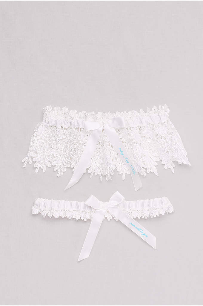Today I Say I Do Lace Garter Set
