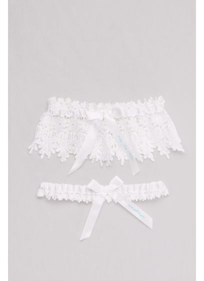 Today I Say I Do Lace Garter Set - Wedding Accessories