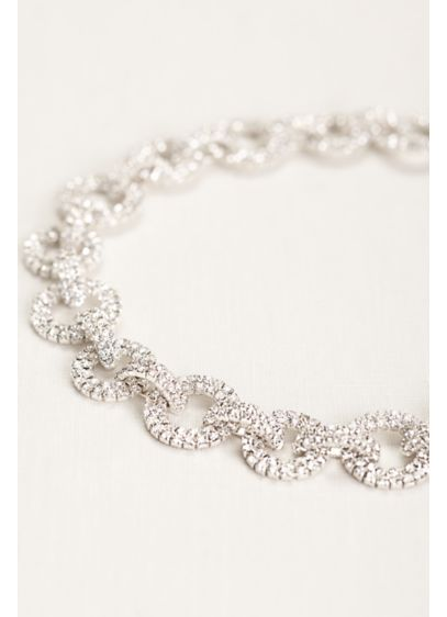 Pave Chainlink Headband - Wedding Accessories