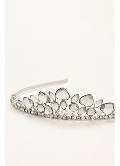 Flower Girl Heart Shaped Tiara - Wedding Accessories