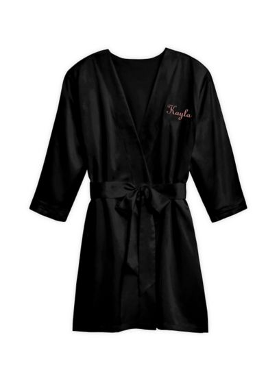 Personalized Premium Silky Kimono - Wrap yourself or any other special ladies in