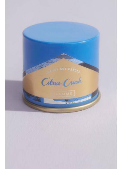 Illume Citrus Crush Salt Demi Vanity Tin Candle - Wedding Gifts & Decorations