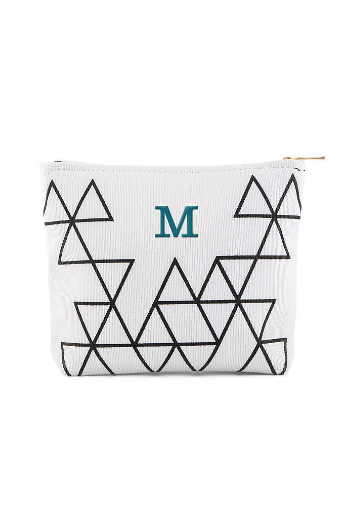 Personalized Geo Prism Small Makeup Bag