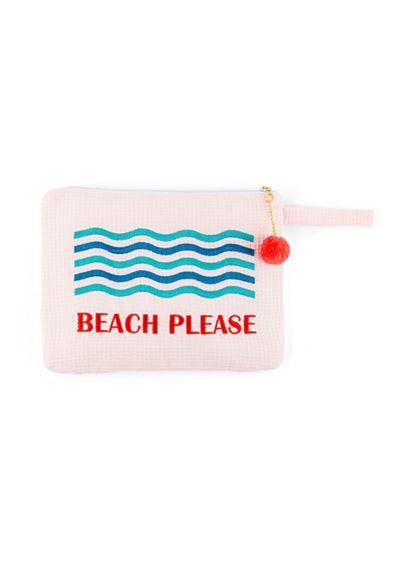 Personalized Beach Please Wet Bikini Bag - The Beach Please Wet Bikini bag is the