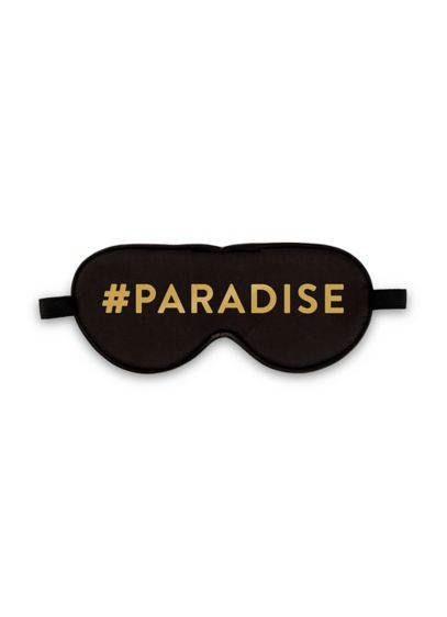 Paradise Satin Eye Mask - Sweet dreams! This 'gram-worthy #paradise-printed satin eye mask